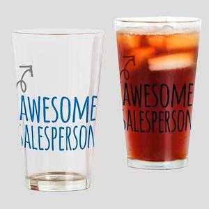 salesperson Drinking Glass