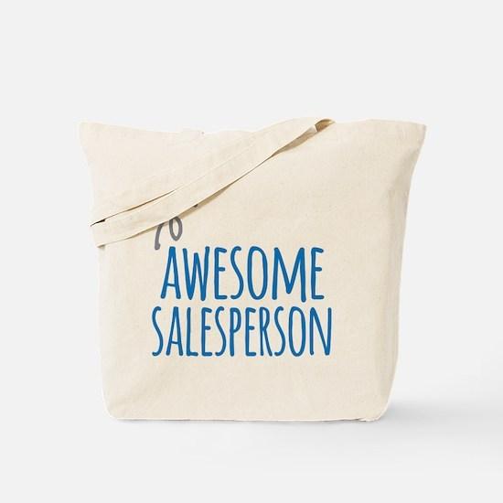salesperson Tote Bag