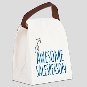 salesperson Canvas Lunch Bag