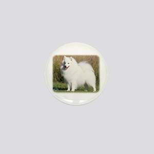 Japanese Spitz 9Y576D-261 Mini Button