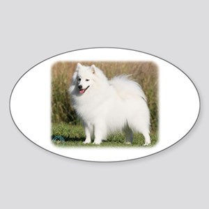 Japanese Spitz 9Y576D-261 Sticker (Oval)