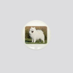 Japanese Spitz 9Y576D-265 Mini Button