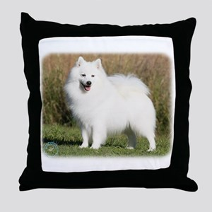 Japanese Spitz 9Y576D-265 Throw Pillow