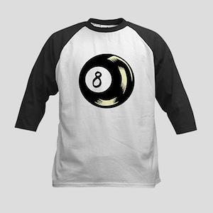 8 Ball 1 Kids Baseball Jersey