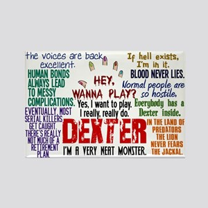 Best Dexter Quotes Rectangle Magnet