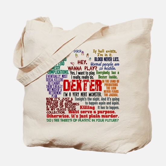 Best Dexter Quotes Tote Bag