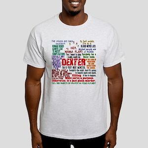 Best Dexter Quotes Light T-Shirt