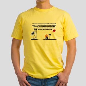 Dahmerland Men's Yellow T-Shirt