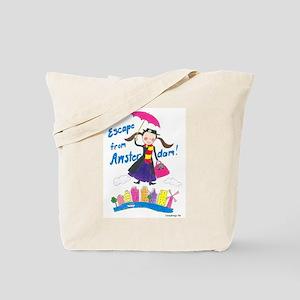Escape from Amsterdam! Tote Bag