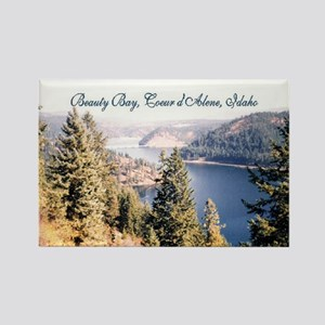 Beauty Bay, Lake Coeur d'Alene Rectangle Magnet