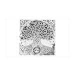 Celtic Tree of Life Ink 38.5 x 24.5 Wall Peel