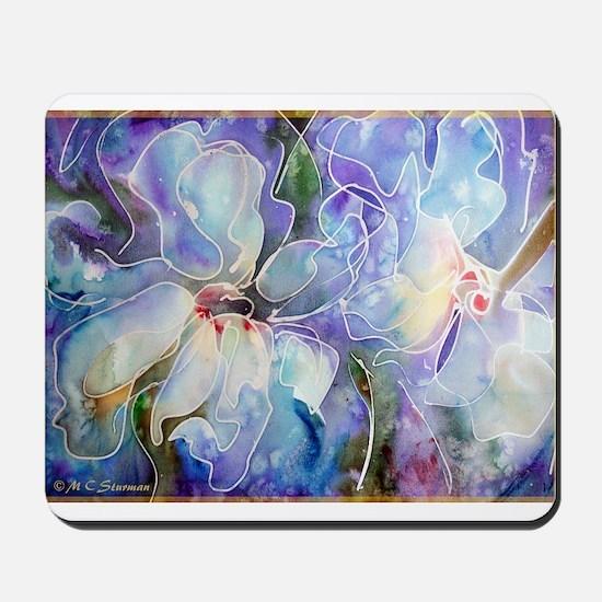 Magnolias, beautiful, art, Mousepad