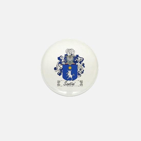 Santini Coat of Arms Mini Button