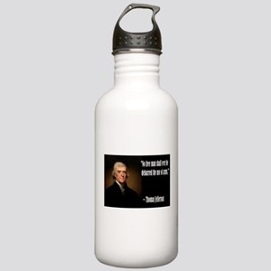 Jefferson On Guns Stainless Water Bottle 1.0L