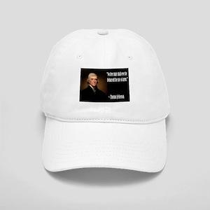Jefferson On Guns Cap