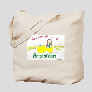 Giant Wooden Shoe! Tote Bag