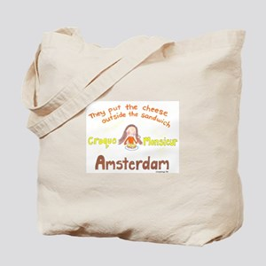 Cheese Sandwich Tote Bag