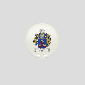 Santi Family Crest Mini Button