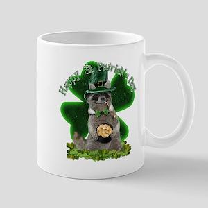 lucky raccoon by gravityx9 2 Mugs