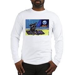 AFFENPINSCHER whimsical dog a Long Sleeve T-Shirt
