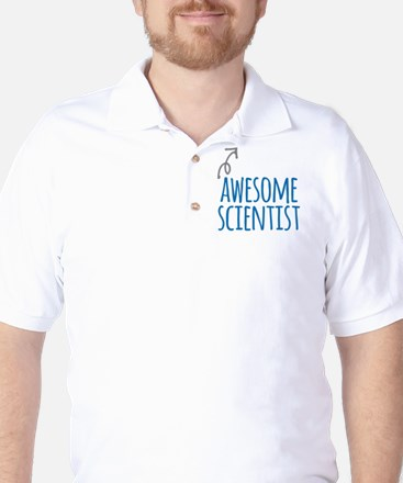 Awesome scientist Golf Shirt