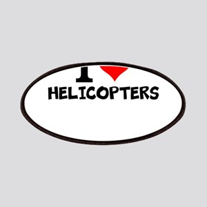I Love Helicopters Patch