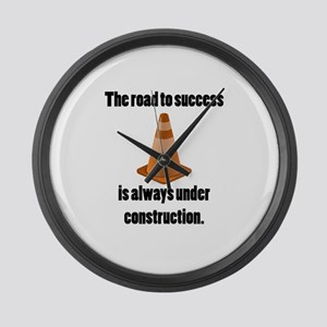 Road to Success Large Wall Clock