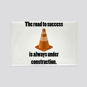 Road to Success Rectangle Magnet
