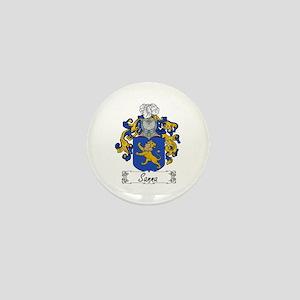 Sanna Coat of Arms Mini Button