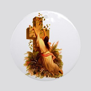 Rock of Ages Ornament (Round)