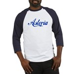 Growing Up Astoria Script Baseball Jersey