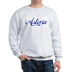 Growing Up Astoria Script Sweatshirt