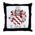 Salviati Coat of Arms Throw Pillow