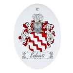 Salviati Coat of Arms Oval Ornament