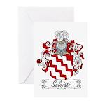 Salviati Coat of Arms Greeting Cards (Pk of 10