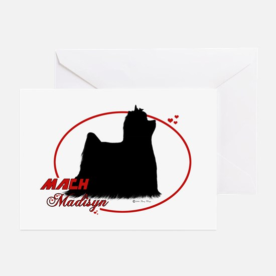 Madisyn Oval Greeting Cards (Pk of 10)