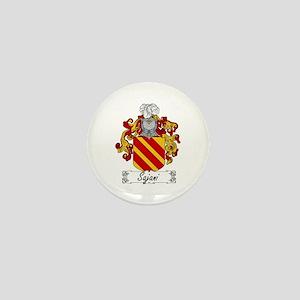 Sajani Family Crest Mini Button