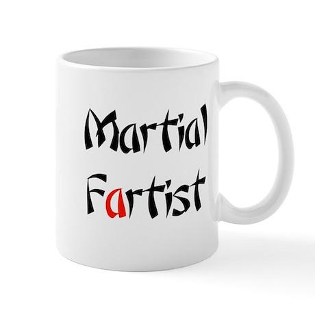 Martial Fartist Mug