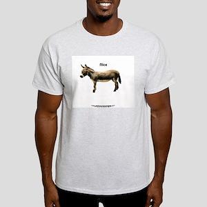 Your Basic 'Nice' ASS Ash Grey T-Shirt