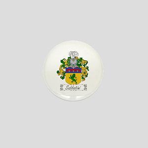 Sabbatini Family Crest Mini Button