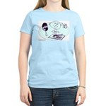 hi-fi Women's Pink T-Shirt