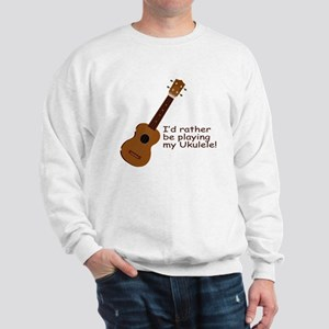Ukulele Design Sweatshirt