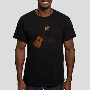 Ukulele Design Men's Fitted T-Shirt (dark)