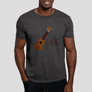 Ukulele Design Dark T-Shirt