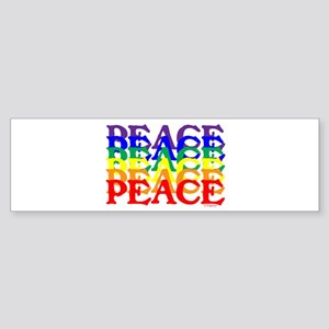 PEACE UNITY Sticker (Bumper)