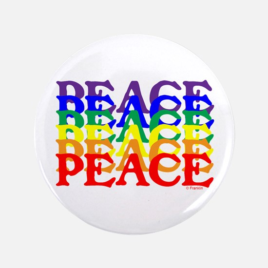 "PEACE UNITY 3.5"" Button"