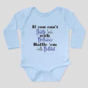 Brilliance? Long Sleeve Infant Bodysuit