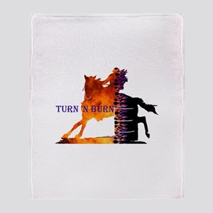 Turn 'n Burn Throw Blanket