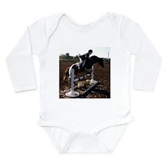 JUMPING Long Sleeve Infant Bodysuit