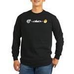 turbo fun Long Sleeve Dark T-Shirt